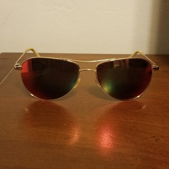 29c3c19e343 Oliver Peoples Benedict Aviator Sunglasses. M 5b078f09fcdc31e330372ec1